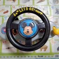 Tomy Disney 米奇方向盤音樂玩具 推車玩具