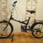 20 吋 K Rock 黑色可摺單車