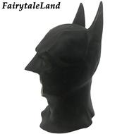 Batman Maskหน้ากากคอสเพลย์ฮาโลวีนSuperhero Bruce Wayne Justice League Batman Cosplay Helmet Latex Mask