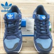 【Ready Stock】 【Original】Adidas Originals ZX750 Boost Low Cut Unisex Sport Shoes Running Kasut Sneakers Couple Black Blue
