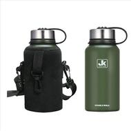 行軍<軍用水壺正品保溫杯水壺戶外大容量特種部隊不銹鋼水杯便捷