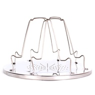 ◇◆4 Slice Stainless Steel Folding Camp Stove Toaster Rack