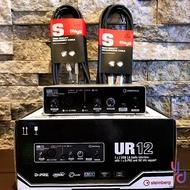 免運費 送導線 公司貨 YAMAHA Steinberg UR12 錄音介面 附贈 Cubase 與UR22功能相同