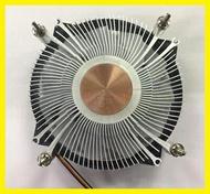 超薄115X溫控一體機銅心CPU散熱器HTPC/itx迷你小機箱散熱風扇