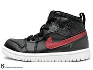[15cm] 2015 海外入荷 台灣未發售 NIKE JORDAN 1 RETRO HIGH BT GT TD RARE AIR 幼童鞋 BABY 鞋 高筒 黑紅 AJ 一代 AIR (705304-012) !