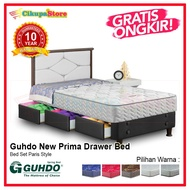 Spring Bed Guhdo New Prima Drawer Bed Paris Style Uk 120x200 - Bed Set