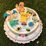 皮卡丘/神奇寶貝/數碼寶貝/寶貝球/相片蛋糕/造型蛋糕/客製蛋糕