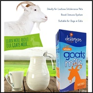 UHT GOATS MILK | GOAT MILK FOR LACTOSE INTOLERANT PEOPLE OR PETS| 1 LITRE| BUY 11 GET 1 FREE