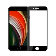 iPhone SE 2020新款 SE2/8/7 4.7吋 9H鋼化玻璃膜 防塵滿版 2.5D保護貼