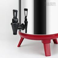 奶茶桶 304不銹鋼保溫桶奶茶桶果汁豆漿保溫桶 奶茶店雙層咖啡桶8L10L12L 【雙12購物節特惠】