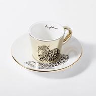 Luycho 韓國 鏡面倒影杯 咖啡杯 (濃縮款、小款) _ 豹