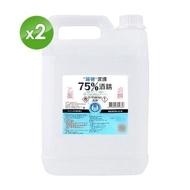 【PATRON 派頓】潔康 75%酒精 4L X2入(乙類成藥)