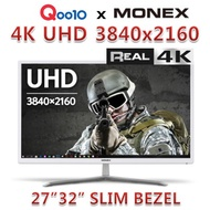 [4K UHD] MONEX 27 ~ 32 inch UltraHD monitor 60Hz / MONITOR / UHD / 3840x2160