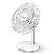 充電式風扇 電風扇可充電靜音學生小型宿舍搖頭12寸辦公室桌面USB落地臺扇子【停電必備】【XXL7063】