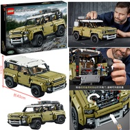 LEGO 42110 Building Block Toy Technology Machinery Group Land Rover Defender Off-road Vehicle October New Product