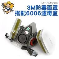 現貨 3M防毒面罩 3M防塵面罩 3M防塵口罩 PM2.5過濾 甲醛 有機蒸氣 粉塵 MIT-3M6006 精準儀錶