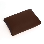 Cushie Pillows 13.5 inches x 10 inches Microbead Squishy/Flexible/Comfortable Rectangle Pillow - Brown