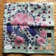 ANNA SUI花漾刺繡絲巾全新