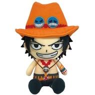 ☆勳寶玩具舖【現貨】萬代 Bandai 海賊王 航海王 坐姿娃娃--艾斯 PORTGAS D. ACE