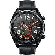 「大畫面觸控螢幕、兩週超狂電力續航」Huawei Watch GT 運動GPS智慧手錶(46mm)—運動款(曜石黑色)