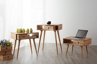 Imports of solid wood box end table coffee table from IKEA TV cabinet DIY combination cabinets minim
