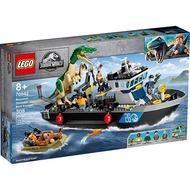 LEGO樂高LT76942 Baryonyx Dinosaur Boat Escape_侏儸紀系列