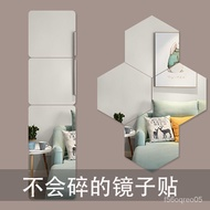 Soft Mirror Wallpaper Self-Adhesive Trial Dressing Whole Body Paste Mirror Acrylic Dance Home Bedroom Glass Wall Sticker
