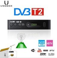*Local Warranty* UKOBOX DVB-T2 Digital TV Receiver full compatible with DVB-T/H.264/TV Tuner/Youtube