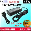 Acer 45W 細針 變壓器(原廠)宏碁 Chromebook11 Chromebook13 Chromebook14 Chromebook15 spin5 SP513-52NP N17W2 SP513-53N