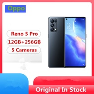 "Original Oppo Reno 5 Pro 5G Mobile Phone MTK 1000+ Android 10.0 6.55"" 90HZ 12GB RAM 256GB ROM 64.0MP"