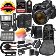 Nikon COOLPIX P1000 Digital Camera with Deluxe Accessory Bundle - Includes: SanDisk Extreme PRO 128G