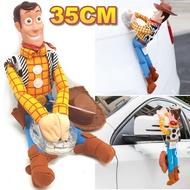 275A086  裝飾娃娃 35cm單入  汽車胡迪 胡迪吊飾 巴斯光年玩具總動員 吊飾 汽車  機車 娃娃