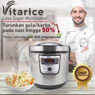 Vitarice Healthy Rice Cooker Low Carbo / Low Rice Cooker Sugar
