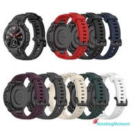 Silicone Watch Strap Band Replace for Huami Amazfit T-Rex Pro/Amazfit T-Rex
