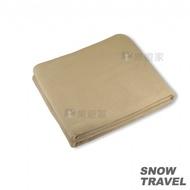 SNOWTRAVEL POLARTEC透氣保暖旅用毛毯 (駝黃) 蝦皮24h 現貨 款式 STAR017-stcal