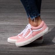 Rggshop??Vans Old Skool 粉色 白鞋舌