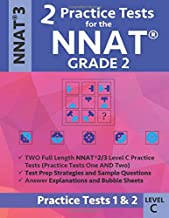 2 Practice Tests for the NNAT Grade 2 Level C: Practice Tests 1 and 2: NNAT3 Grade 2 Level C Test Prep Book for the Naglieri Nonverbal Ability Test