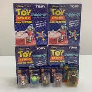玩具總動員 絕版 稀有 場景 盒玩 小吊卡 babyface 蜘蛛寶寶 綠兵 撲滿豬 披薩星球