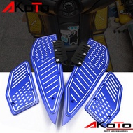 MOTO Yamaha Xmax300 Xmax250 Modified Accessories Pedal Cnc Aluminum Alloy Foot Pad