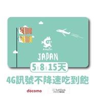 日本 沖繩 北海道 不挑手機上網卡SIM卡電話卡吃到飽不斷網 5天8天10天15天