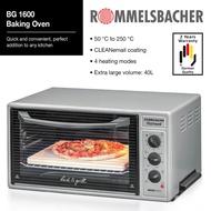 Rommelsbacher Baking Oven Silver BG 1600  40L