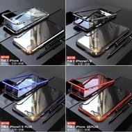 100 % ของแท้ !! [ส่งจากไทย เร็ว1-2วัน] Case iPhone SE 2020 iXR iXS iphone XS MAX เคสโทรศัพท์ Magnetic degree Apple เคสไอโฟน สีพื้น มือถือ กันกระแทก กันแตก ไฮบริด เคสหลัง Pc สวย บาง หนา เคสหุ่นยนต์ กระจก 2in1 เคสแม่เหล็ก เคสประกบ360 ประกบ หน้า-หลัง พร้อมส่