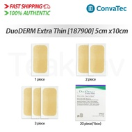 ConvaTec 187900 DuoDERM Extra Thin Dressing - 2 x 4 Inches, 1/2/3/20 piece