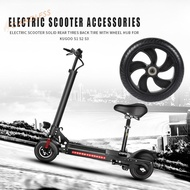 Electric Scooter Solid Rear Wheel Back Tire w/Wheel Hub for Kugoo S1 S2 S3