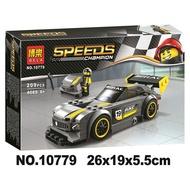 【玩樂積木】博樂10779 超級賽車系列 賓士GT3跑車 樂拼28003同款 非75877 兼容樂高積木