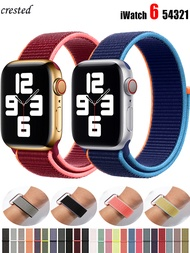 Sport Loop for Apple watch band 40mm 44mm 38mm 42mm Accessorie Nylon belt wristband bracelet band iWatch series 5 4 3 se 6 strap