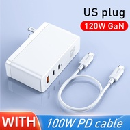 [Free Gift 100W Cable ] Baseus 120W GaN Charger PD Fast Charging USB C Charger QC 4.0 3.0 Quick Charge USB Charger for Macbook Pro Laptop Tablet for iPhone 12 12pro max 12pro 12mini Samsung Huawei Xiaomi