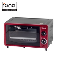 IONA 10L Red Oven Toaster, Able to Put 4x Breads - GL103