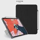 PIPETTO Origami Pencil iPad Pro 11吋 多角度多功能保護套(內建筆槽)-黑/灰色