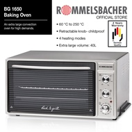 Rommelsbacher BG 1650 40 L Baking Oven 2 Year Warranty